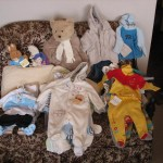 Clothes and fluffy toys