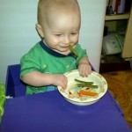 Trying baby led weaning