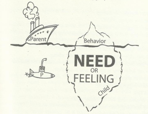 Look for the Need or Feeling instead of focusing on the behaviour.