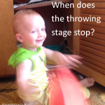 When does the throwing stage stop?