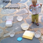Oh, The Things I Can Do With Mom's Plastic Containers