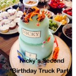 Nicky's Second Birthday Truck / Construction Party