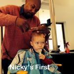 Nicky's First Salon Haircut