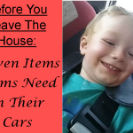 Before You Leave The House: Eleven Items Moms Need In Their Cars