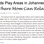 23 Kids Play Areas in Johannesburg Where Mom Can Relax