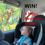 Win A Magic Mesh Kids Shade for Your Car!