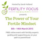 Fertility Focus Telesummit March 2015