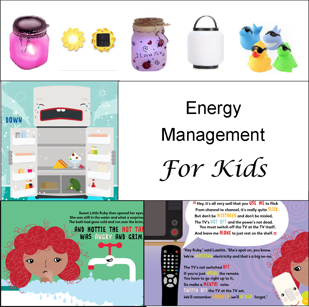 tips and tools to get kids to save energy
