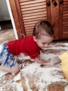 flour-on-floor