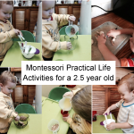 Montessori Practical Life Activities for Toddlers
