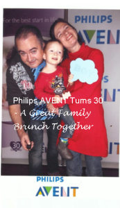 philips avent 30th birthday celebrations