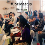 #JoziMeetup thoughts….