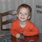 Nicky is Three!