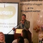 Nico Panagio opens up about his infertility struggle at the #HuggiesBreakfast