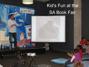 we had fun at two kid's workshops at the SA Book fair 2015