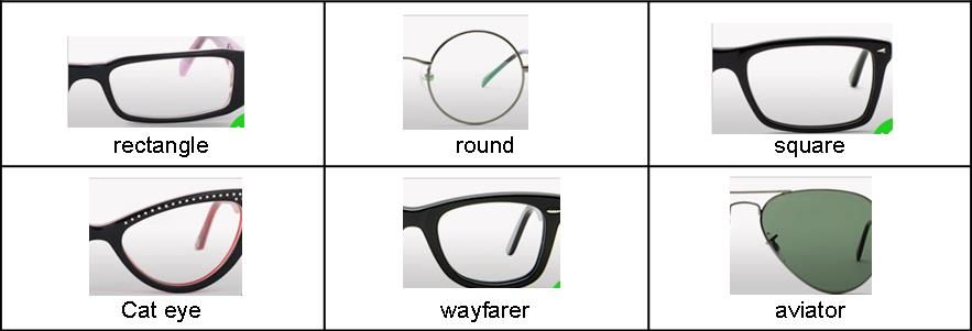 Glasses Frame For Oval Face : The Right Glasses Frames for Your Face - One Step At a Time