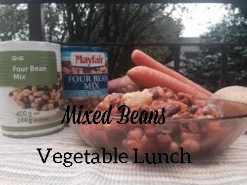 mixed-beans-vegetable-lunch