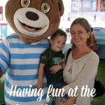 Having fun at the #BarniBear Great Adventure @RosebankTheZone