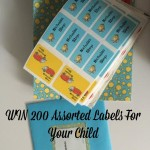 WIN 200 Assorted Labels For Your Child!