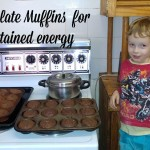 Chocolate Muffins for Sustained Energy