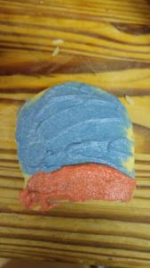 thomas cookies red and blue