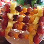 tooty fruity fruit kebabs