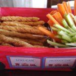 train party food log car