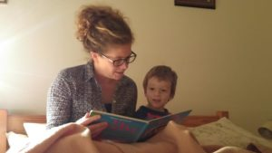 reading with aunty