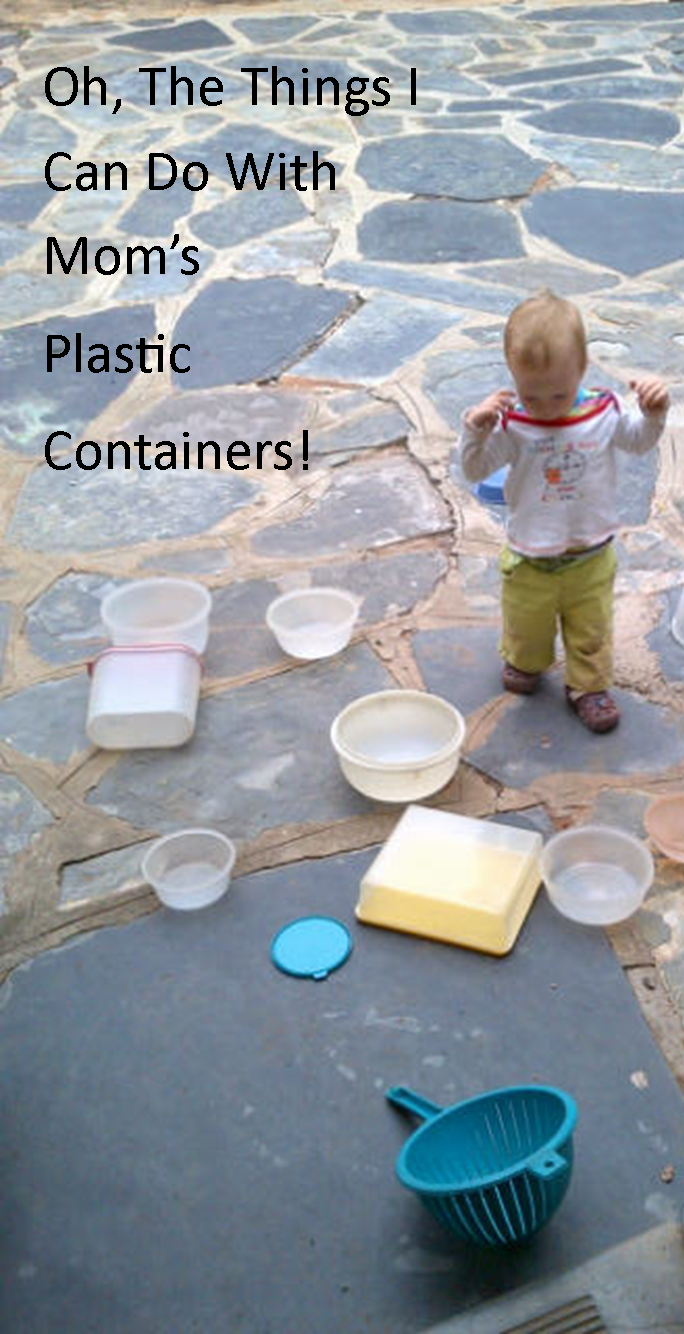 Things I Can Do With Mom S Plastic Containers